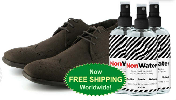 NonWater Spray Review - Best Hydrophobic Spray for Shoes