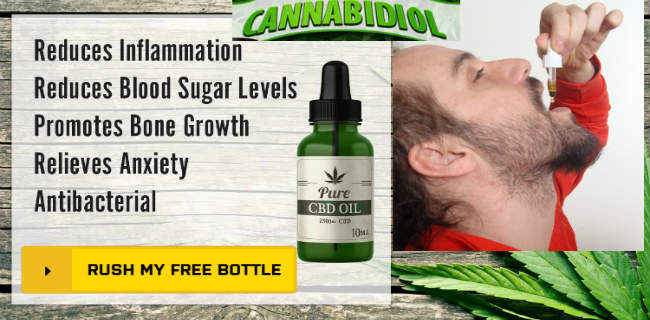 Cannabis Oil Cancer CBD Oil Free Sample Bottle