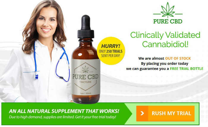 CBD Oil Free Trial Offer - Highest Grade CBD Oil Miracle Drop