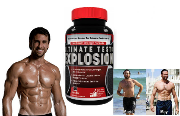 Ultimate Testo Explosion - Testosterone Boosting Pill for Erectile dysfunction