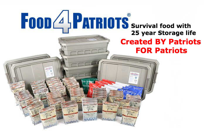 Food For Patriots - Best Long-Term Survival Foods Design