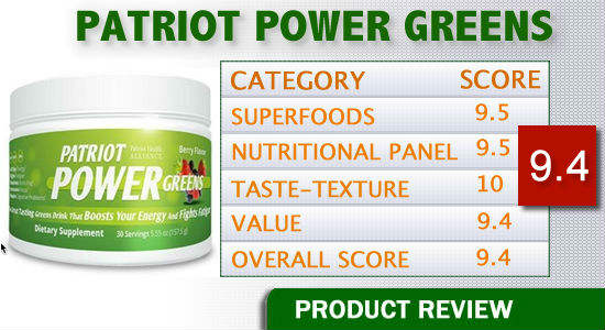 Patriot Power Greens – Restore Energy And Vitality