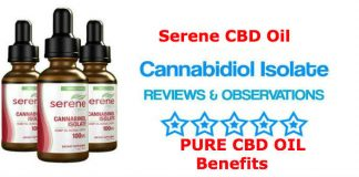 Serene CBD Oil - Cannabidiol Isolate Hemp Oil, Highest Grade CBD Oil