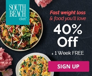 south beach diet 40% off