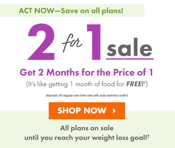 What is the cost of Nutrisystem for one month?